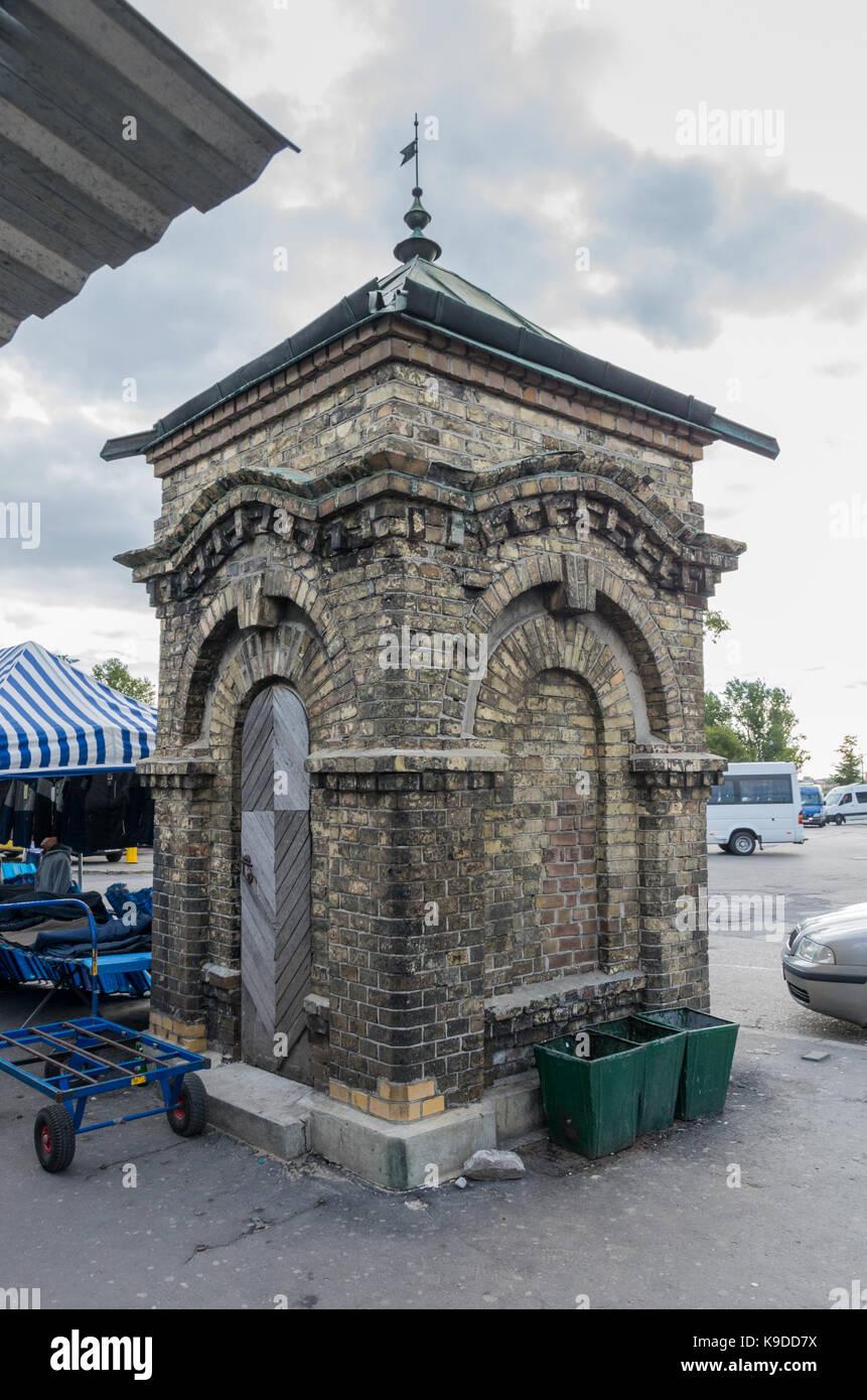 Old Well (Stara Studnia), Lublin, Poland - Stock Image