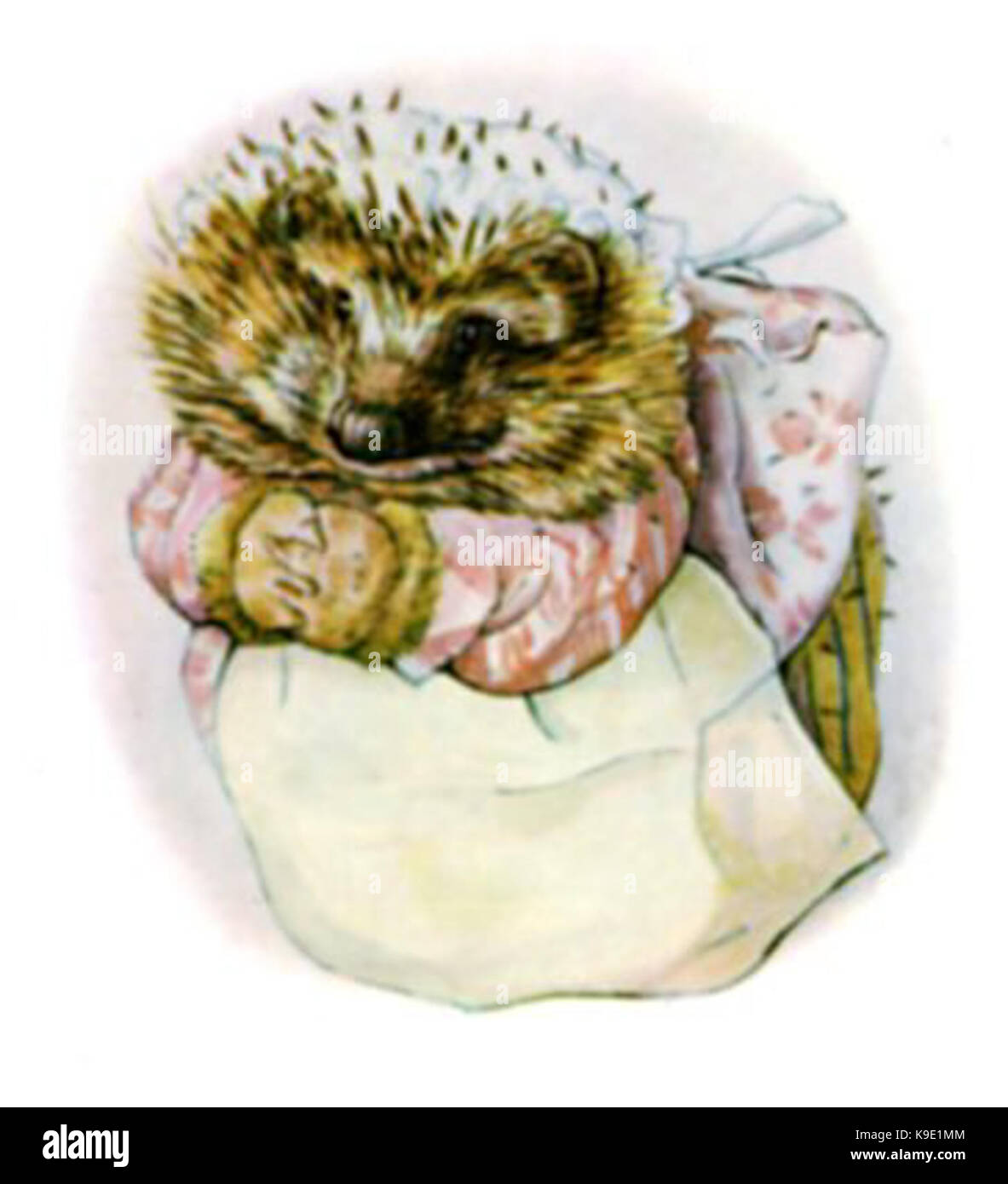 Mrs tiggy winkle cover - Stock Image