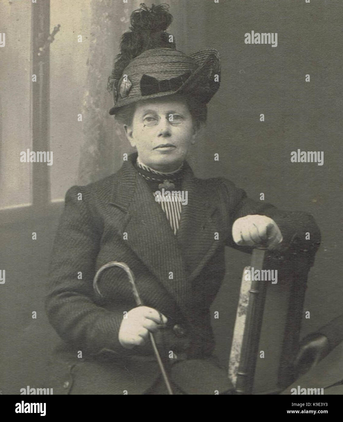 Mej. Anna Clasina Leijer - Stock Image
