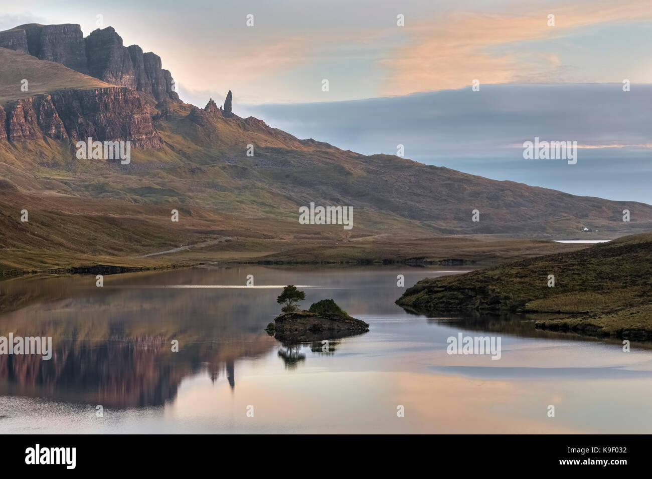 The Storr, Isle of Skye, Scotland, United Kingdom - Stock Image
