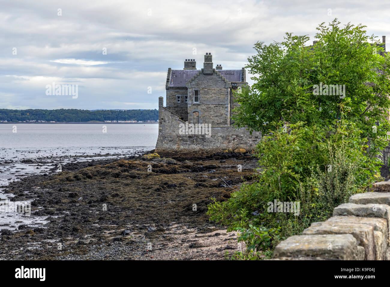 Blackness Castle, Falkirk, Scotland, United Kingdom - Stock Image