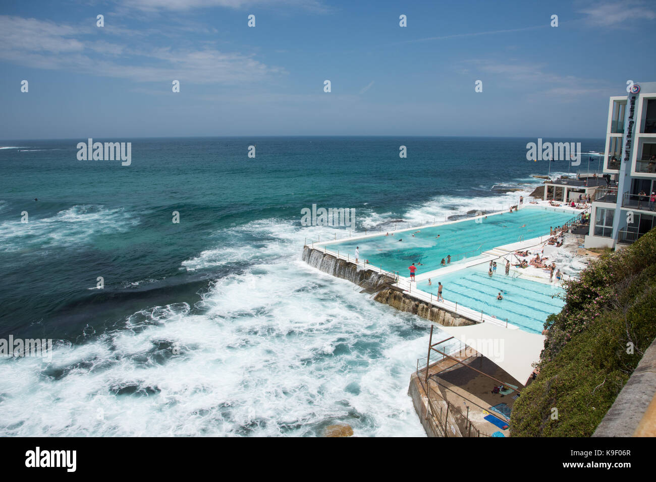 Bondi icebergs club stock photos bondi icebergs club stock images alamy for Swimming pools central coast nsw