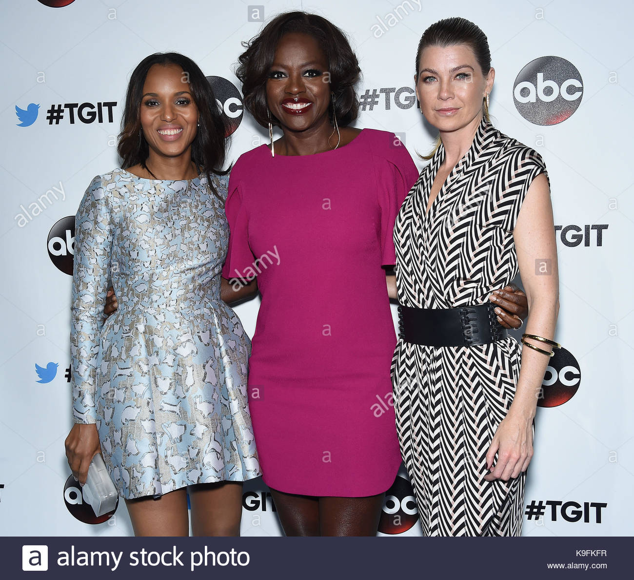 Kerry Washington, Viola Davis and Ellen Pompeo. Cast leaders come ...