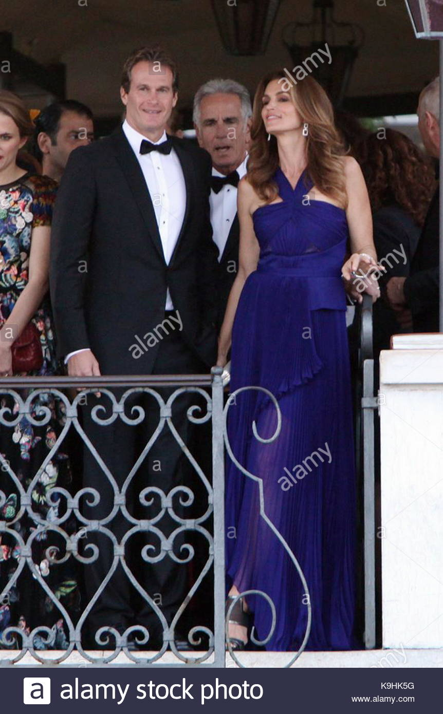 Rande Berger and Cindy crawford. George Clooney and Amal Alamuddin ...