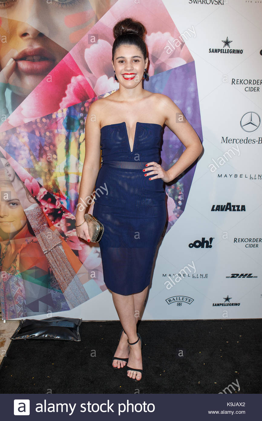 Chelsea Williamson. Mercedes-Benz Presents Australian Style showcases highlights from Fashion Week, plus the public - Stock Image