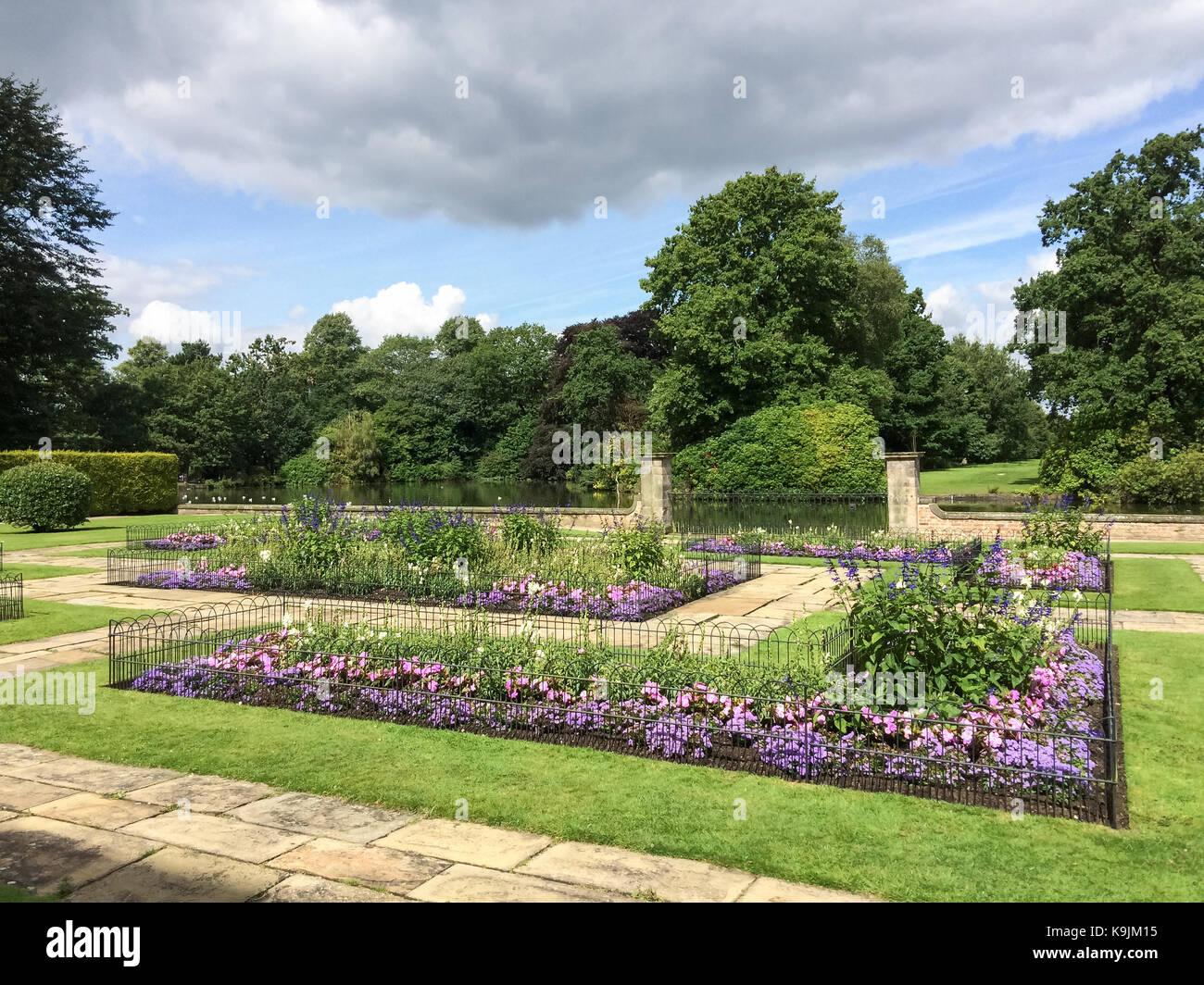 Dunham Massey, Altrincham, Cheshire - Stock Image