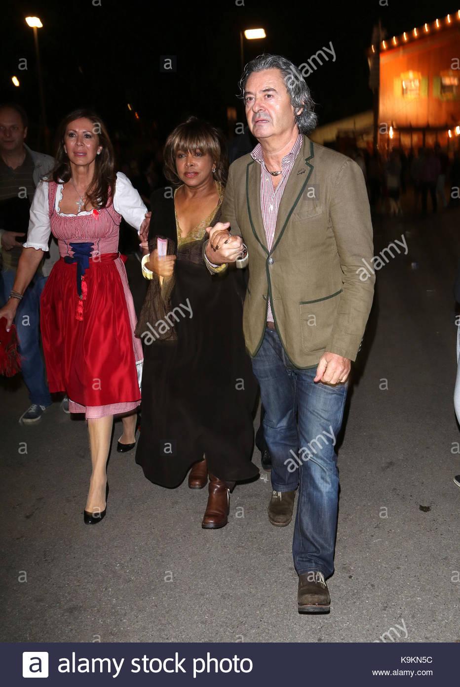 Tina Turner and Erwin Bach. Tina Turner and her husband Erwin Bach Stock Photo: 160858920 - Alamy