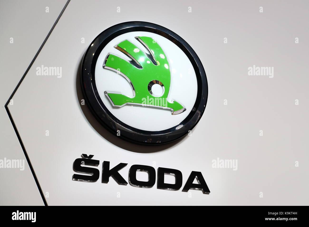 Skoda Emblem Stock Photos Amp Skoda Emblem Stock Images Alamy