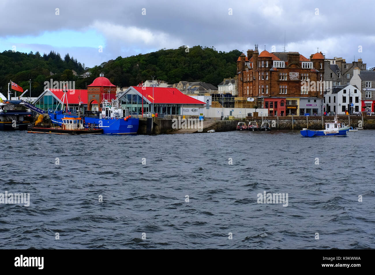 Oban - Scotland UK - Stock Image