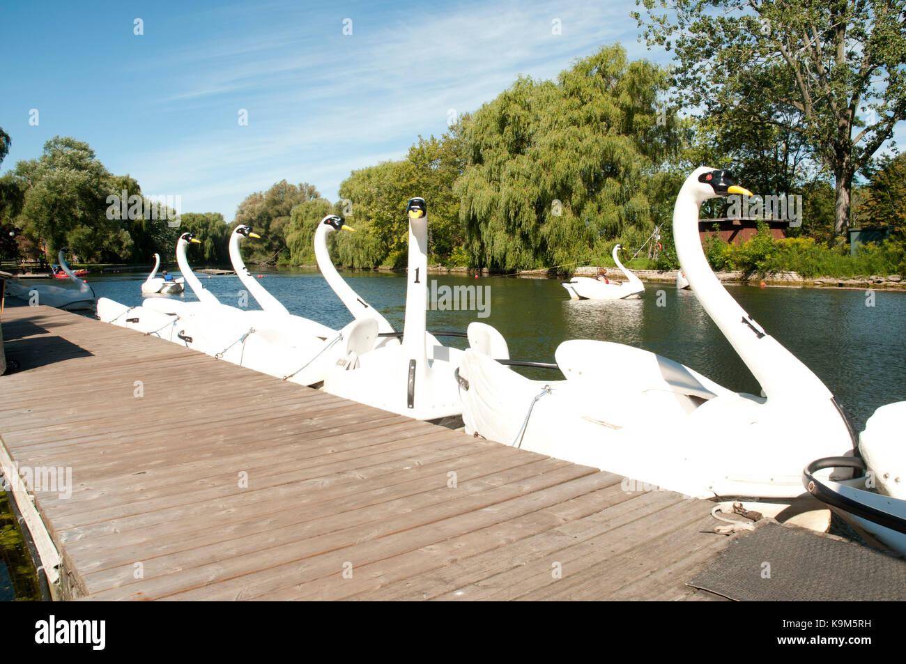 Centreville Amusement Park, Toronto Islands, Canada Stock Photo