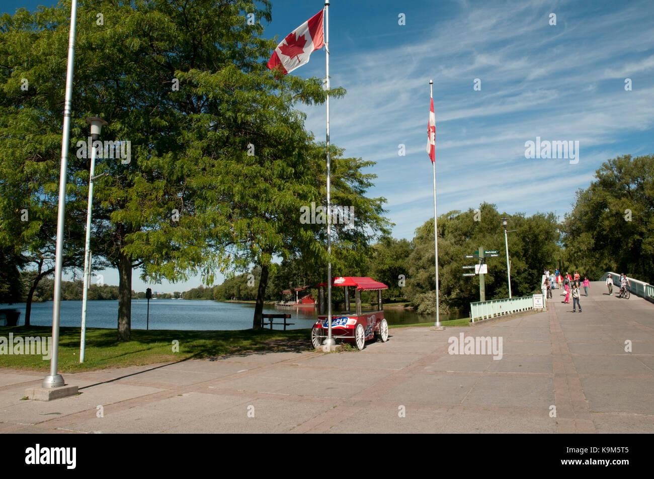 Centre Island Park, Toronto Islands, Canada Stock Photo