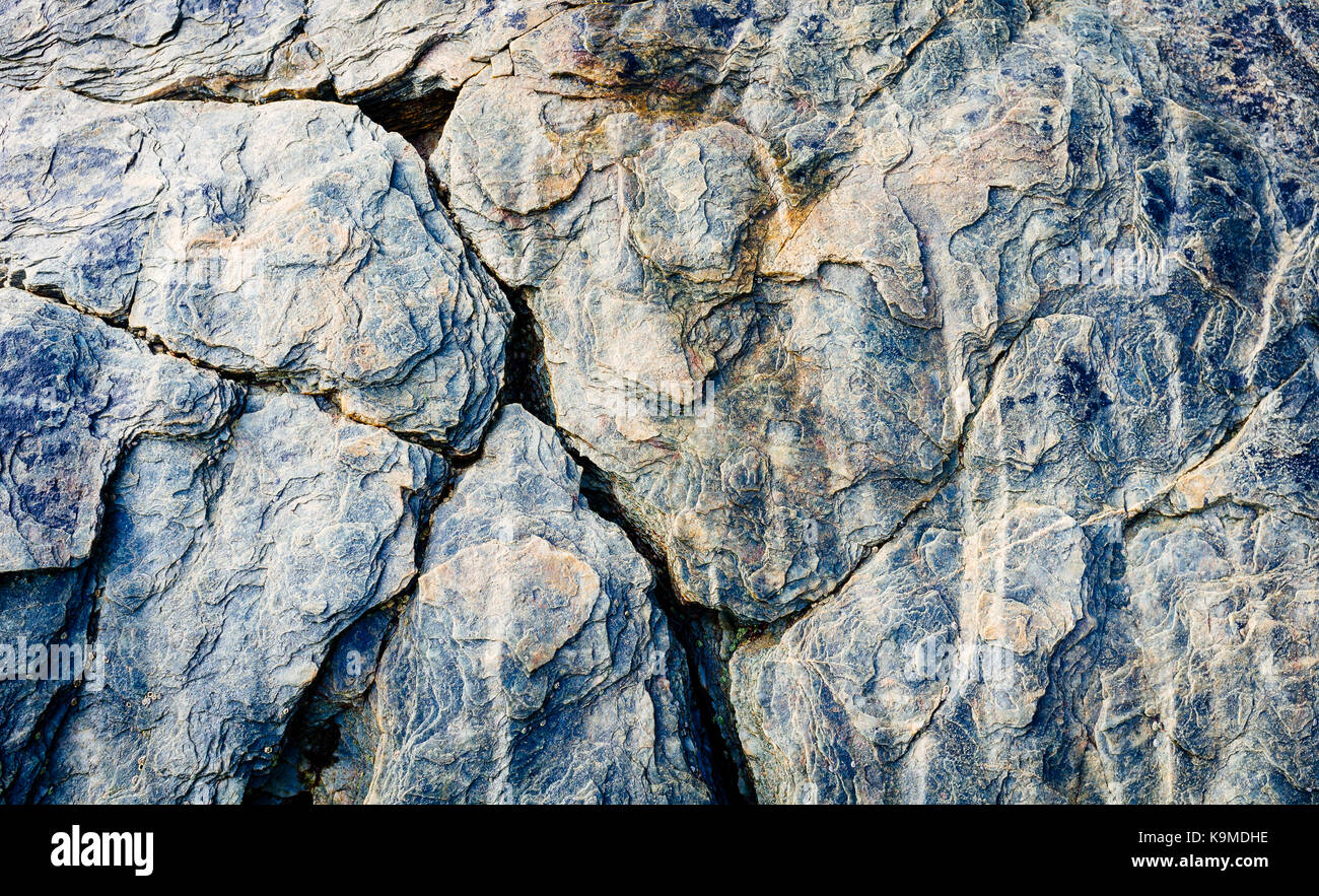 Solid Rock Background For Graphic Design In Shades Of Blue And Gray Stock Photo Alamy