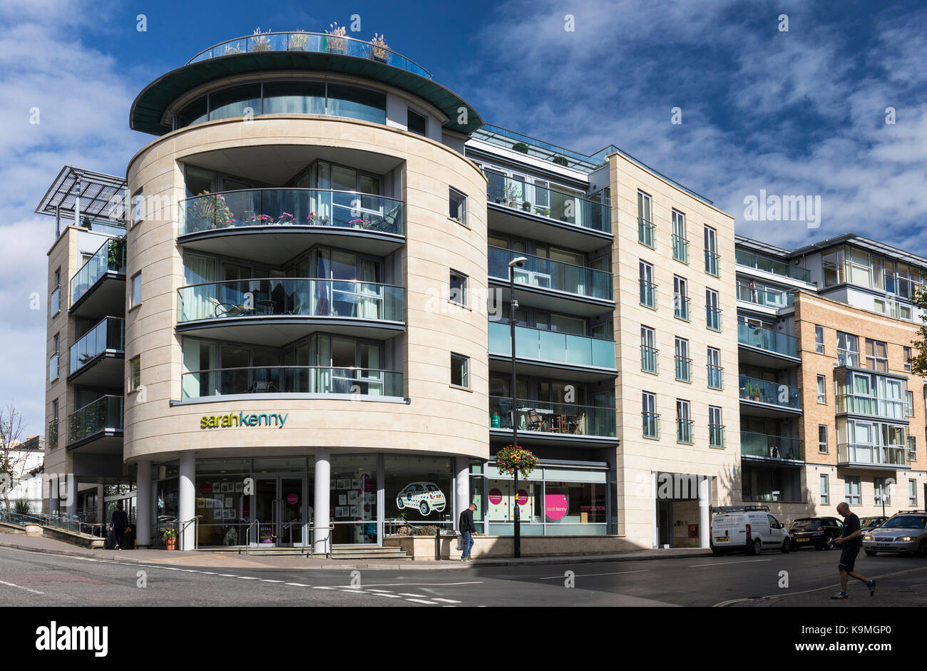 Sarah Kenny Residential Lettings and apartments, Clifton, Bristol, England - Stock Image