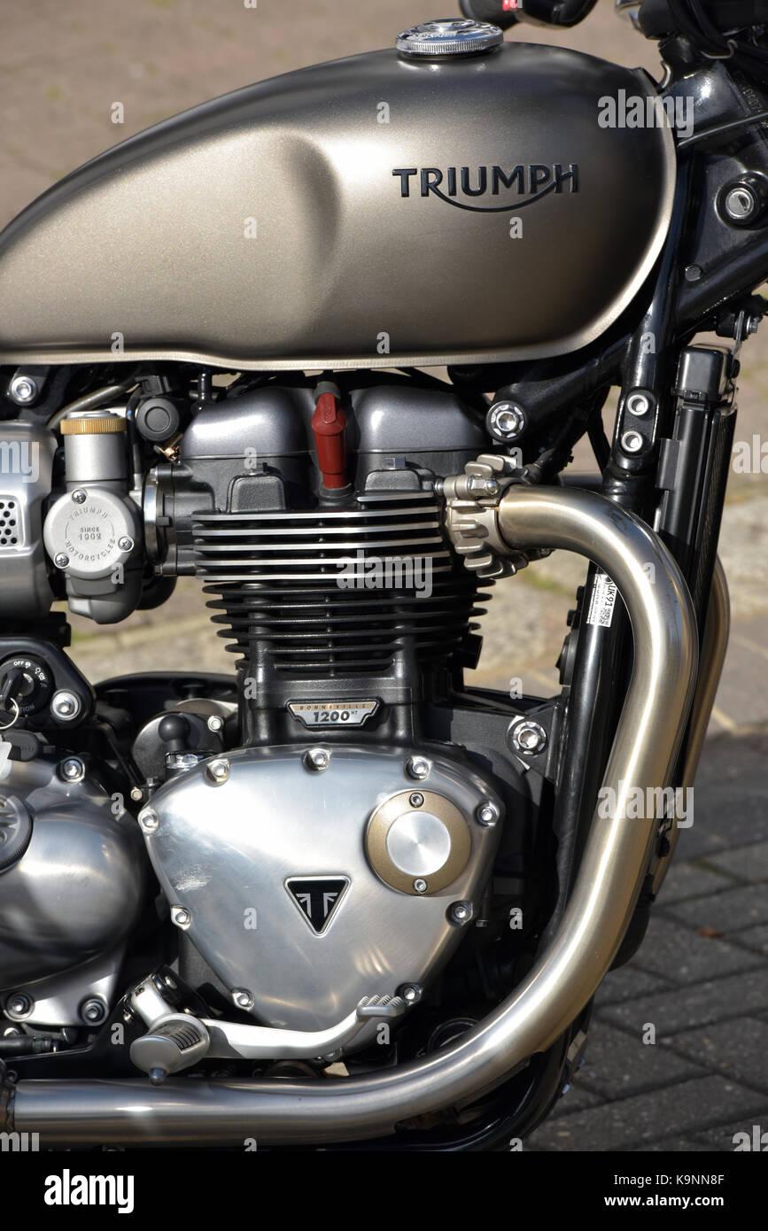 Triumph Motorcycle Stock Photos & Triumph Motorcycle Stock