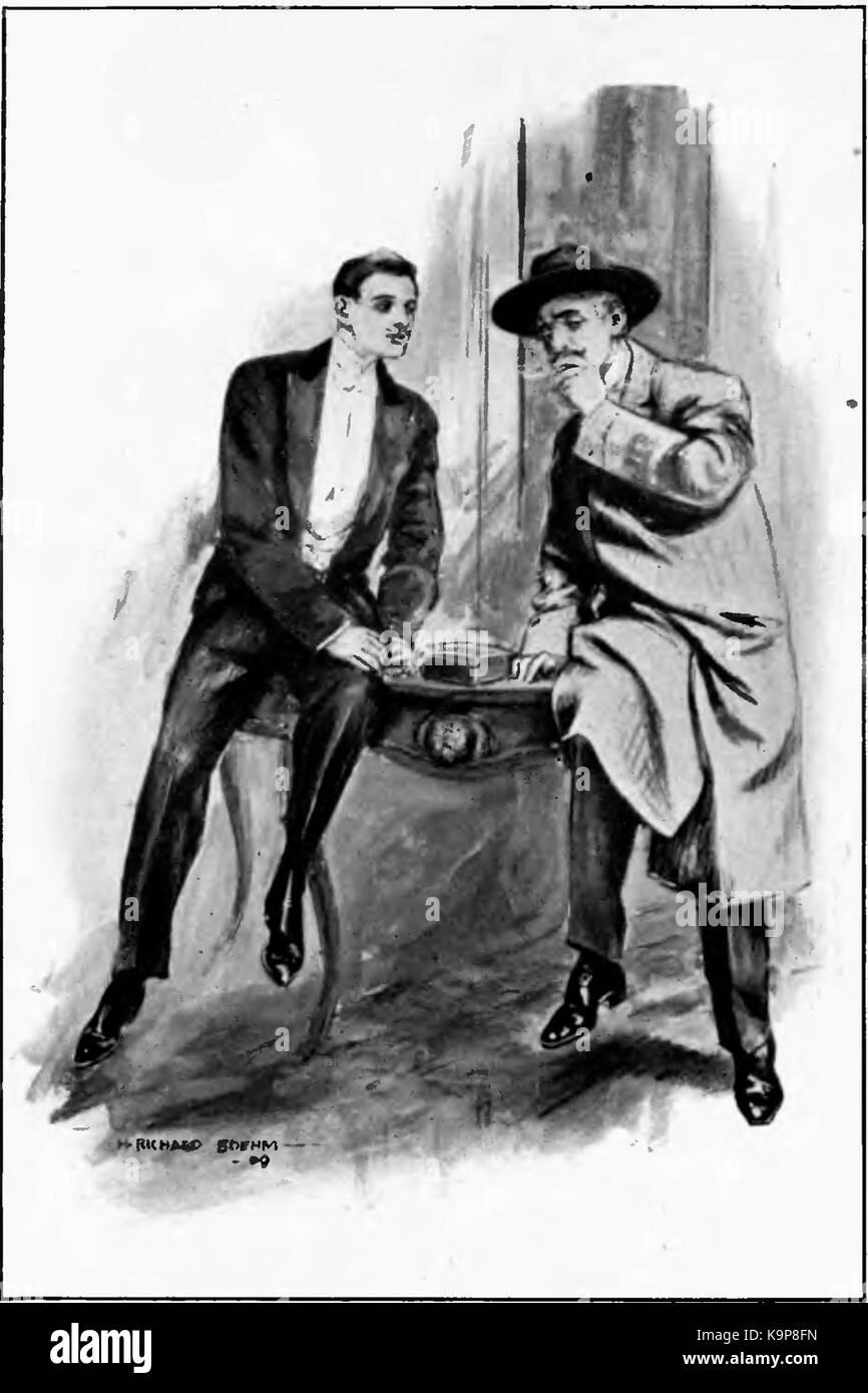 Page286 Arsene Lupin (Doubleday, 1909) Stock Photo