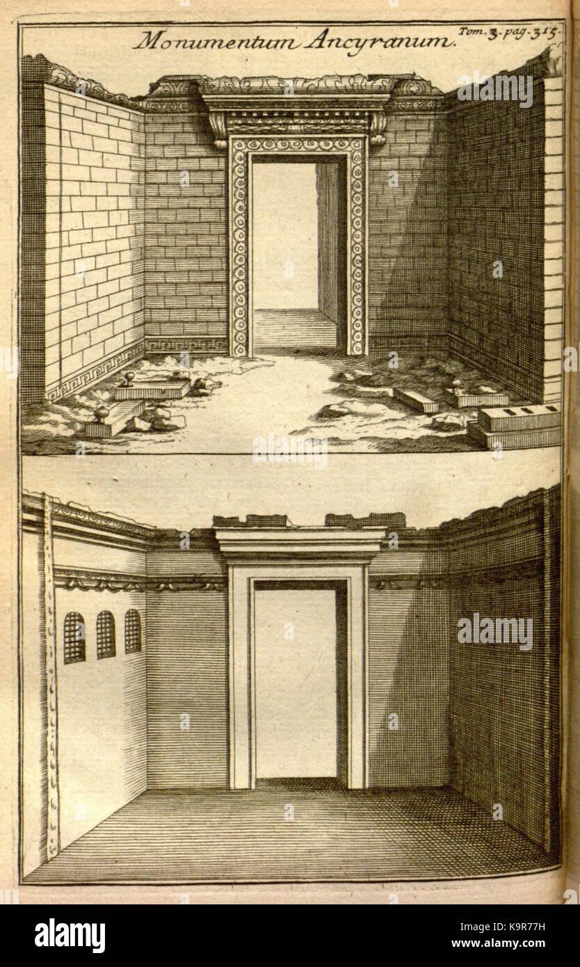 Relation d'un voyage du Levant (Plate 48) (7893928862) - Stock Image