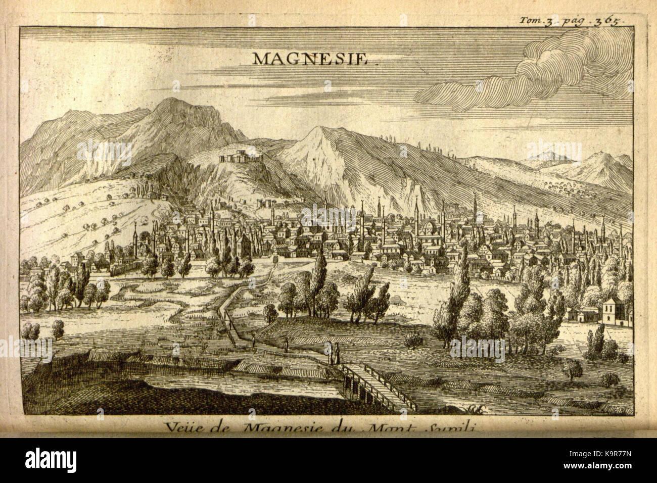 Relation d'un voyage du Levant (Plate 55) (7893937214) - Stock Image