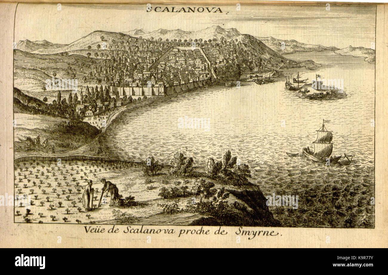 Relation d'un voyage du Levant (Plate 62) (7893944772) - Stock Image