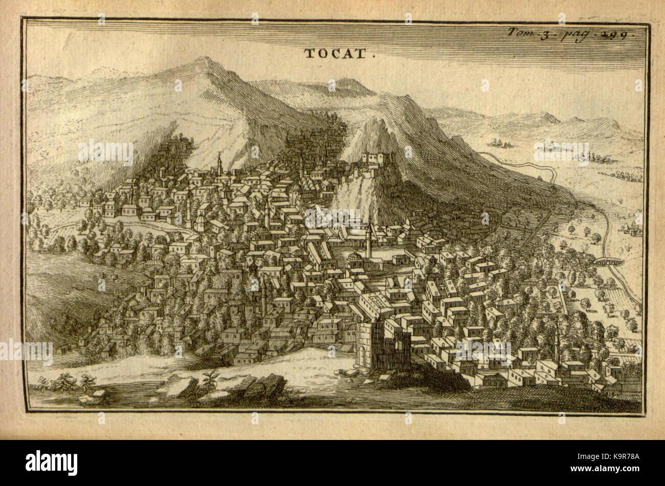 Relation d'un voyage du Levant (Plate 45) (7893924718) - Stock Image