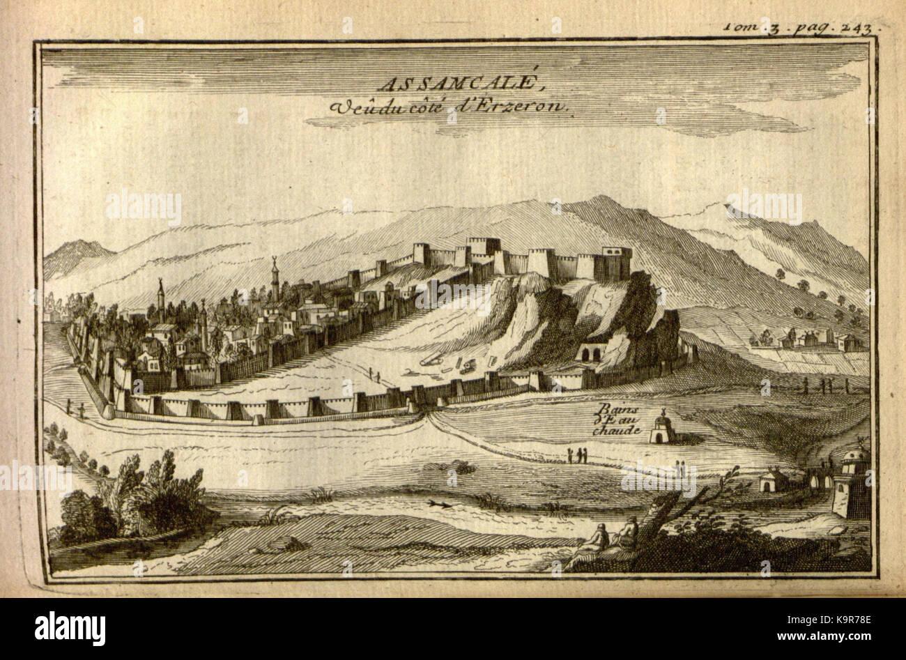 Relation d'un voyage du Levant (Plate 37) (7893914858) - Stock Image