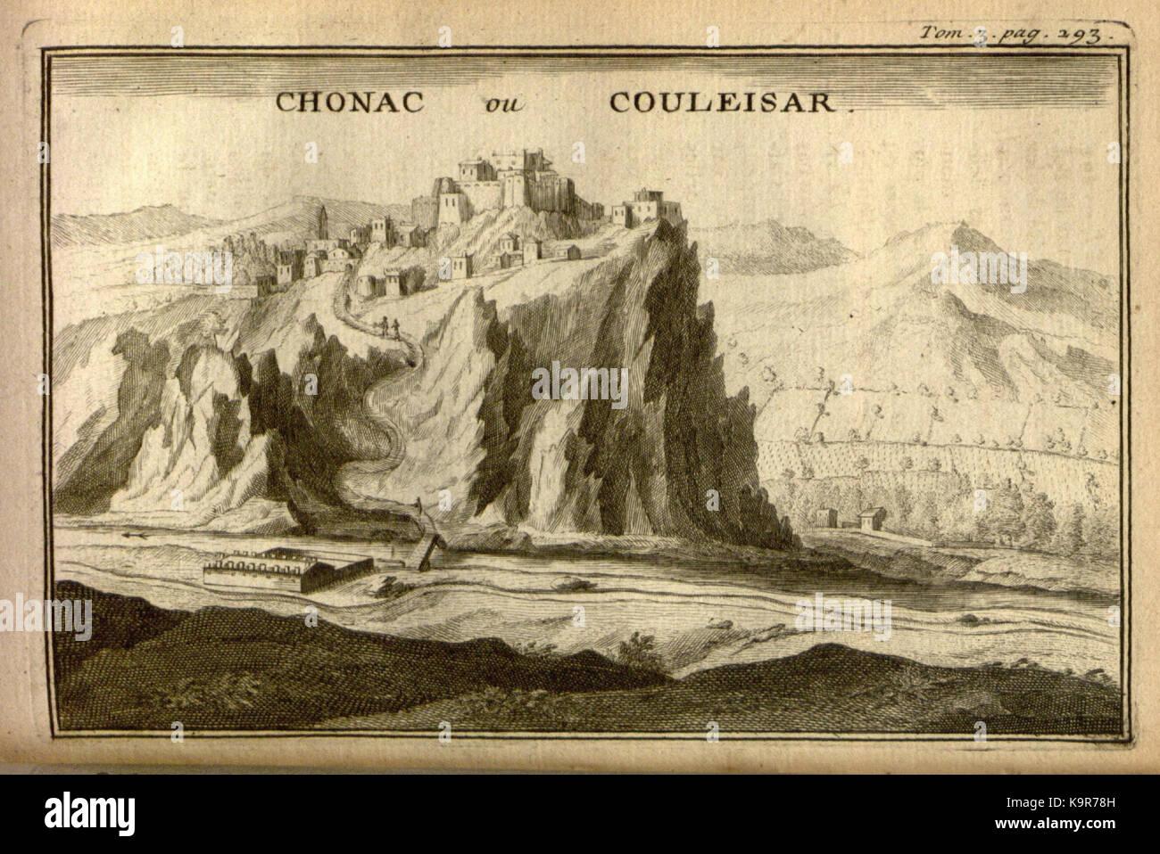 Relation d'un voyage du Levant (Plate 43) (7893922154) - Stock Image
