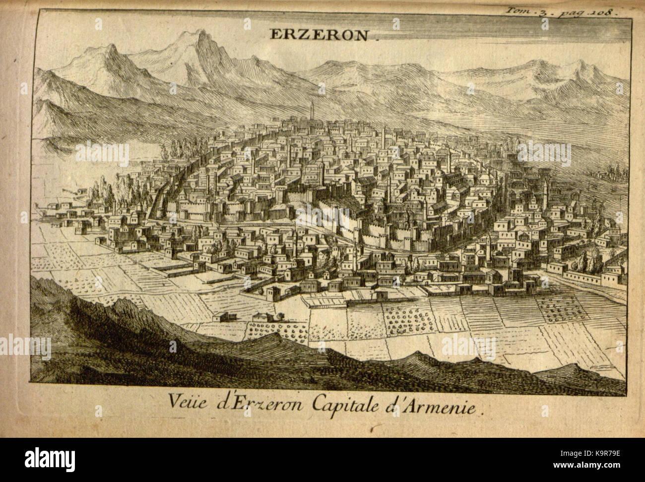 Relation d'un voyage du Levant (Plate 16) (7893890996) - Stock Image