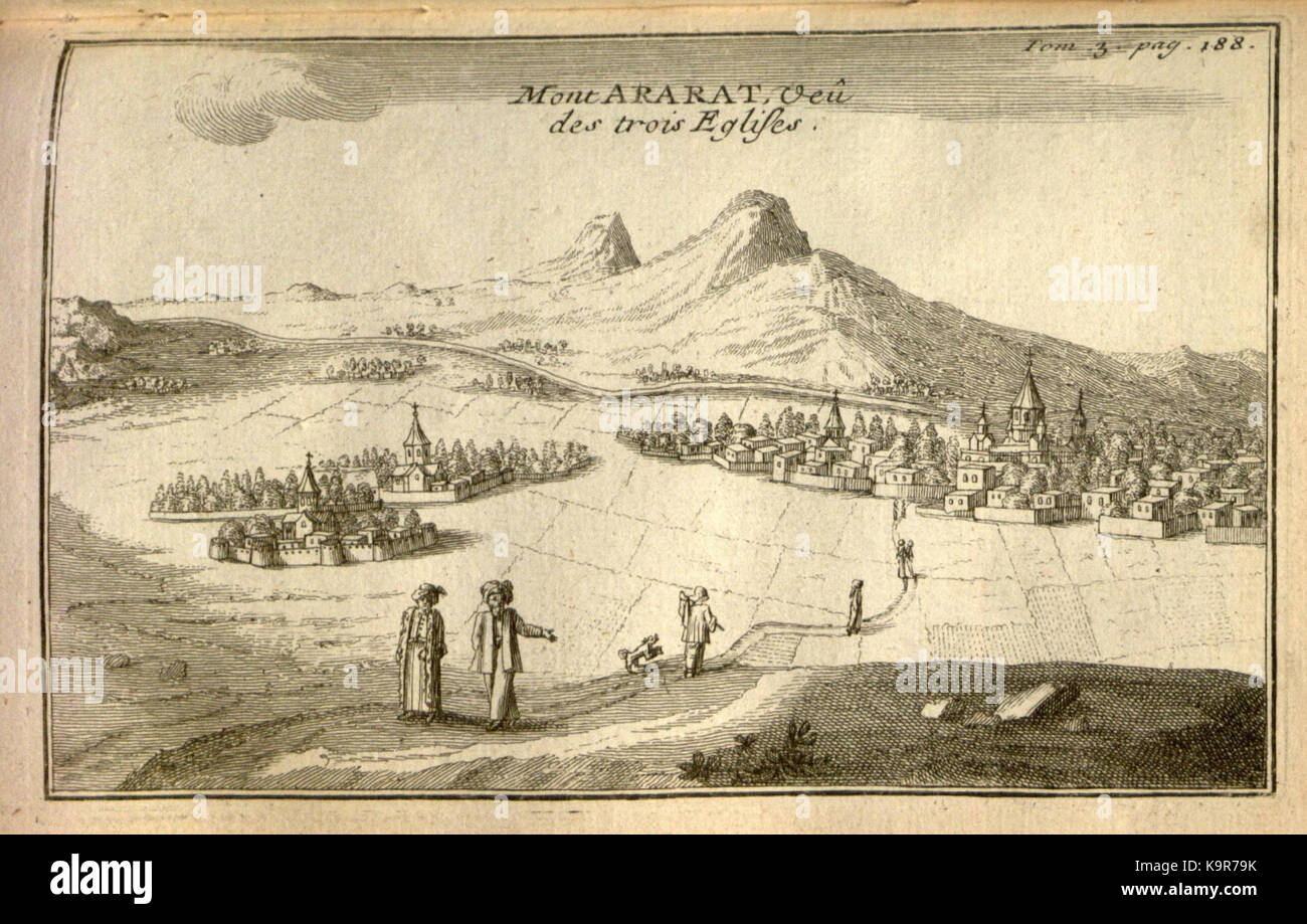 Relation d'un voyage du Levant (Plate 26) (7893902772) - Stock Image