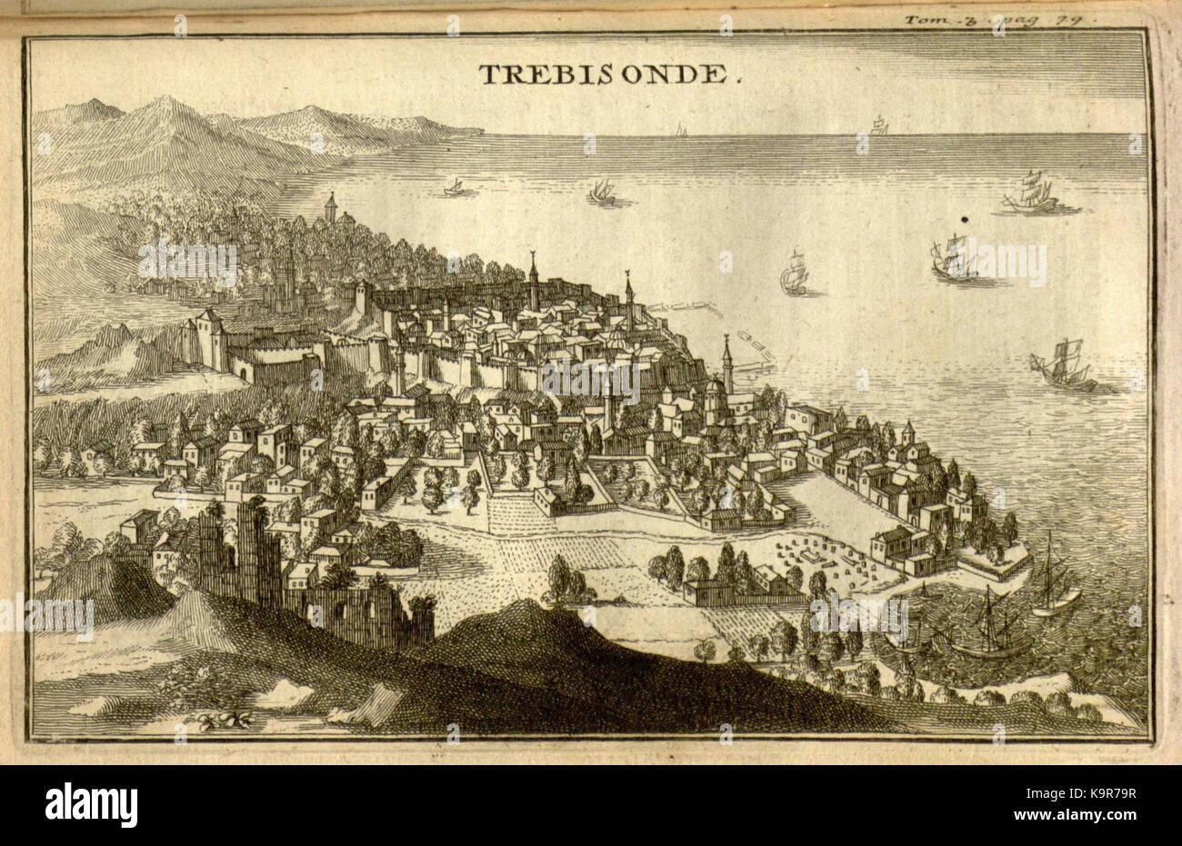 Relation d'un voyage du Levant (Plate 9) (7893882872) - Stock Image