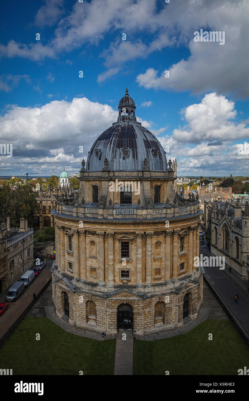 Bodleian Library in Oxford - Stock Image