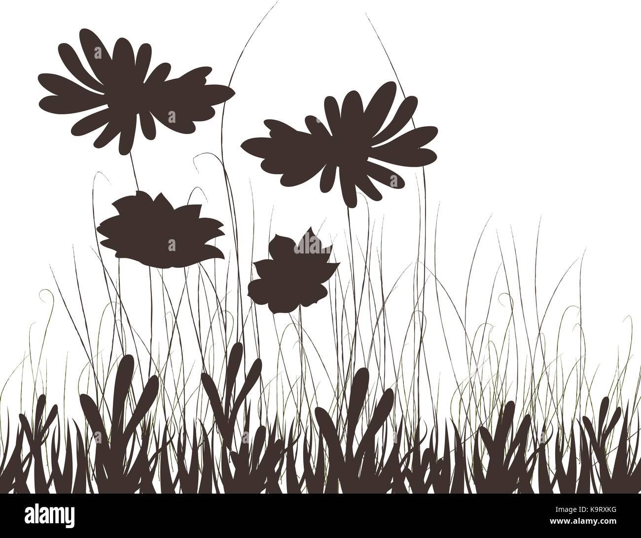 Meadow plants - Stock Vector