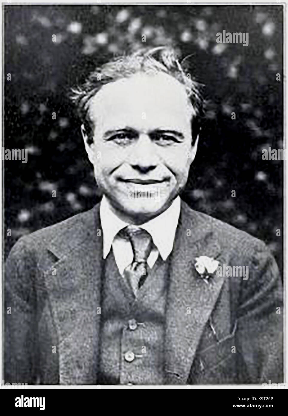 A 1928 portrait of William Maxwell Beaverbrook , 1st Baron Beaverbrook (Lord Beaverbrook) - Stock Image
