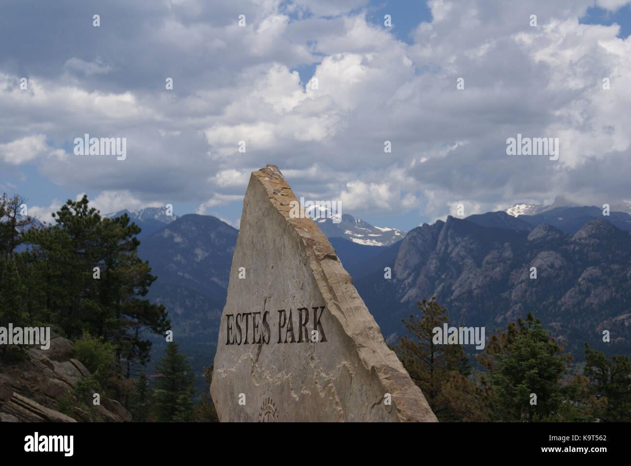 Estes Park - Stock Image
