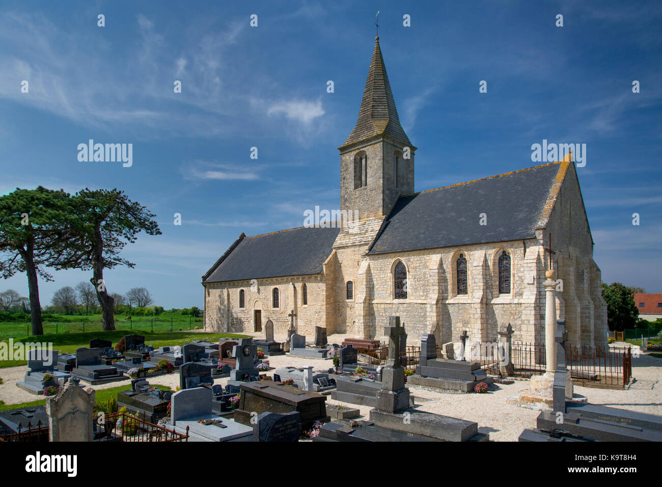 Eglise Saint Pierre, Originally Built 11th Century, Destroyed On D Day, And