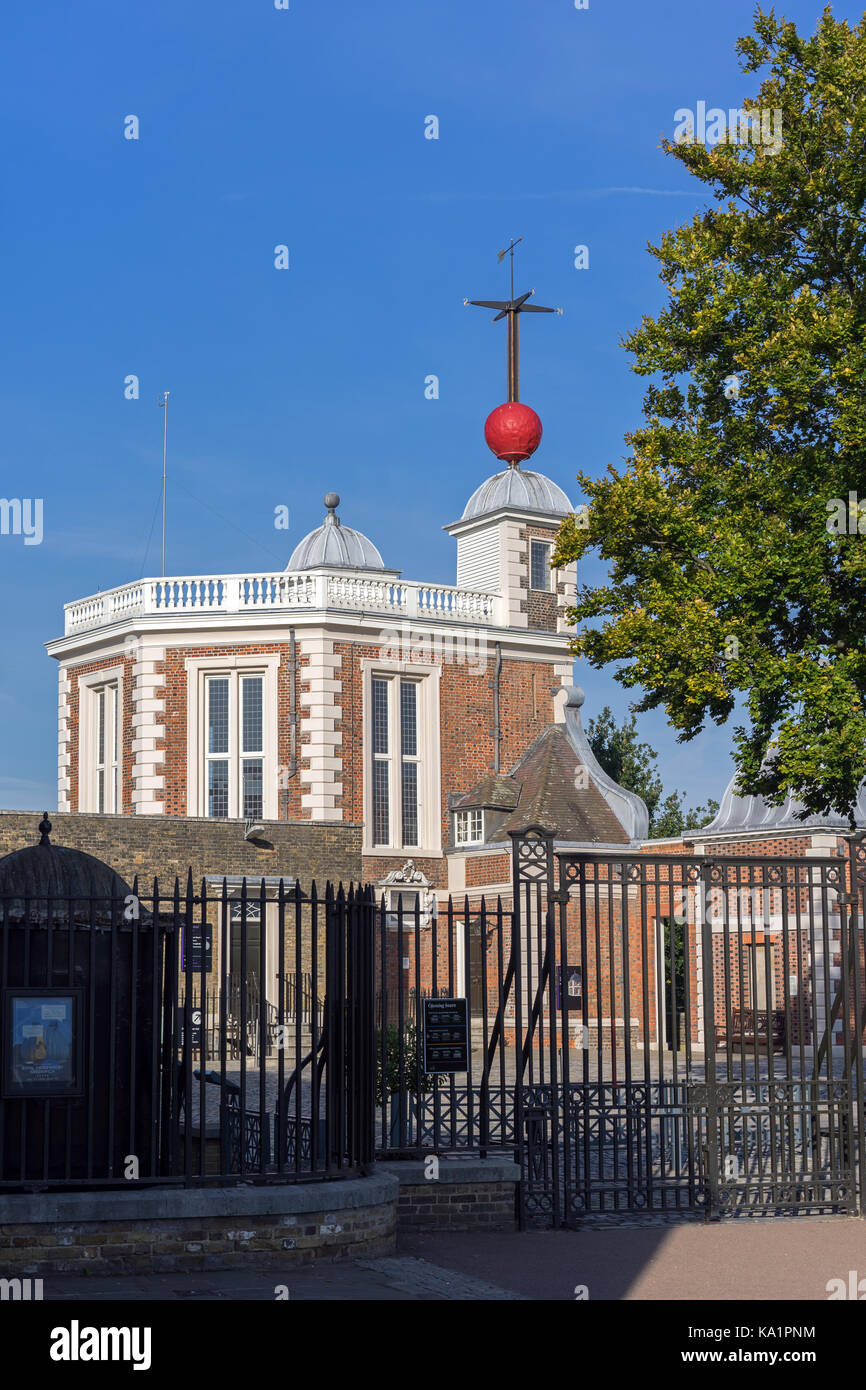 Royal Observatory, Greenwich  Octagon Room - Stock Image