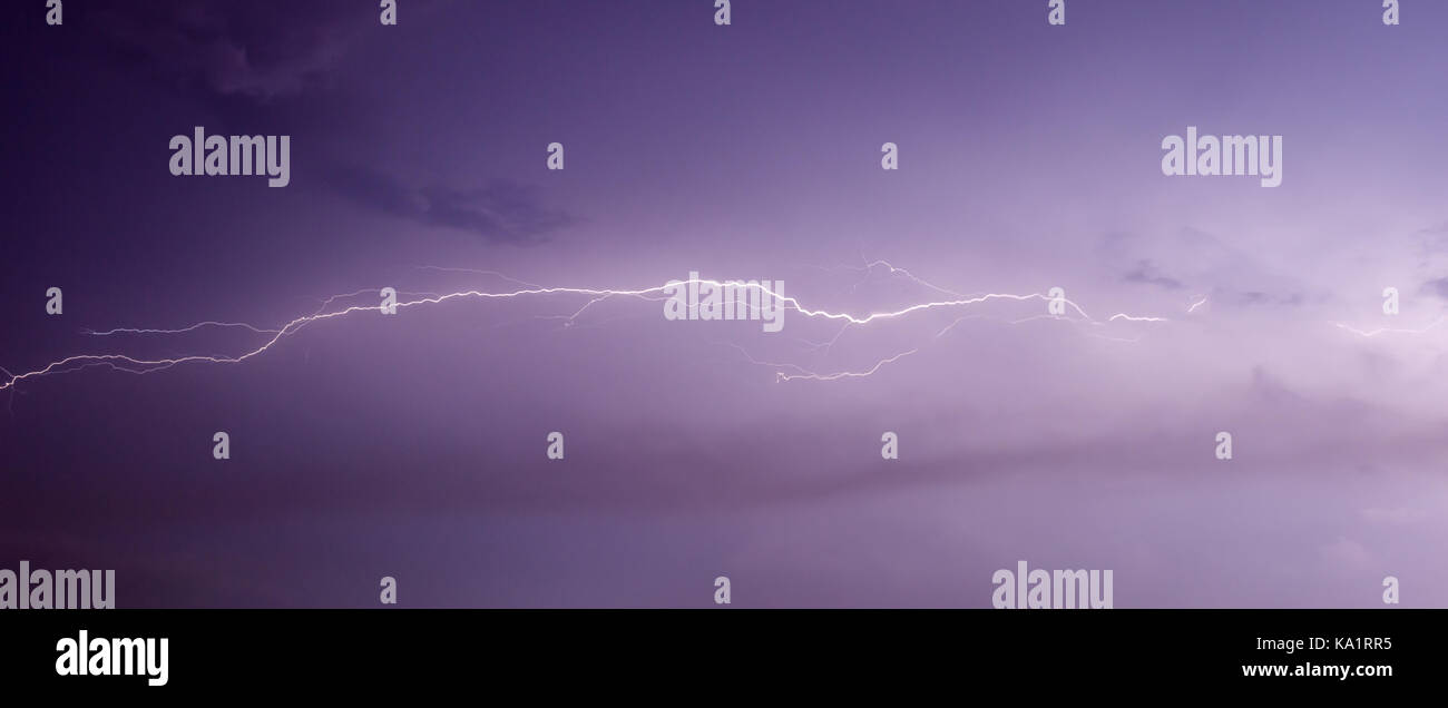 Picture of lightening. - Stock Image