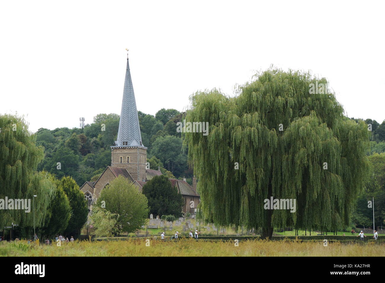 St Peter and St Paul Church, Godalming - Stock Image