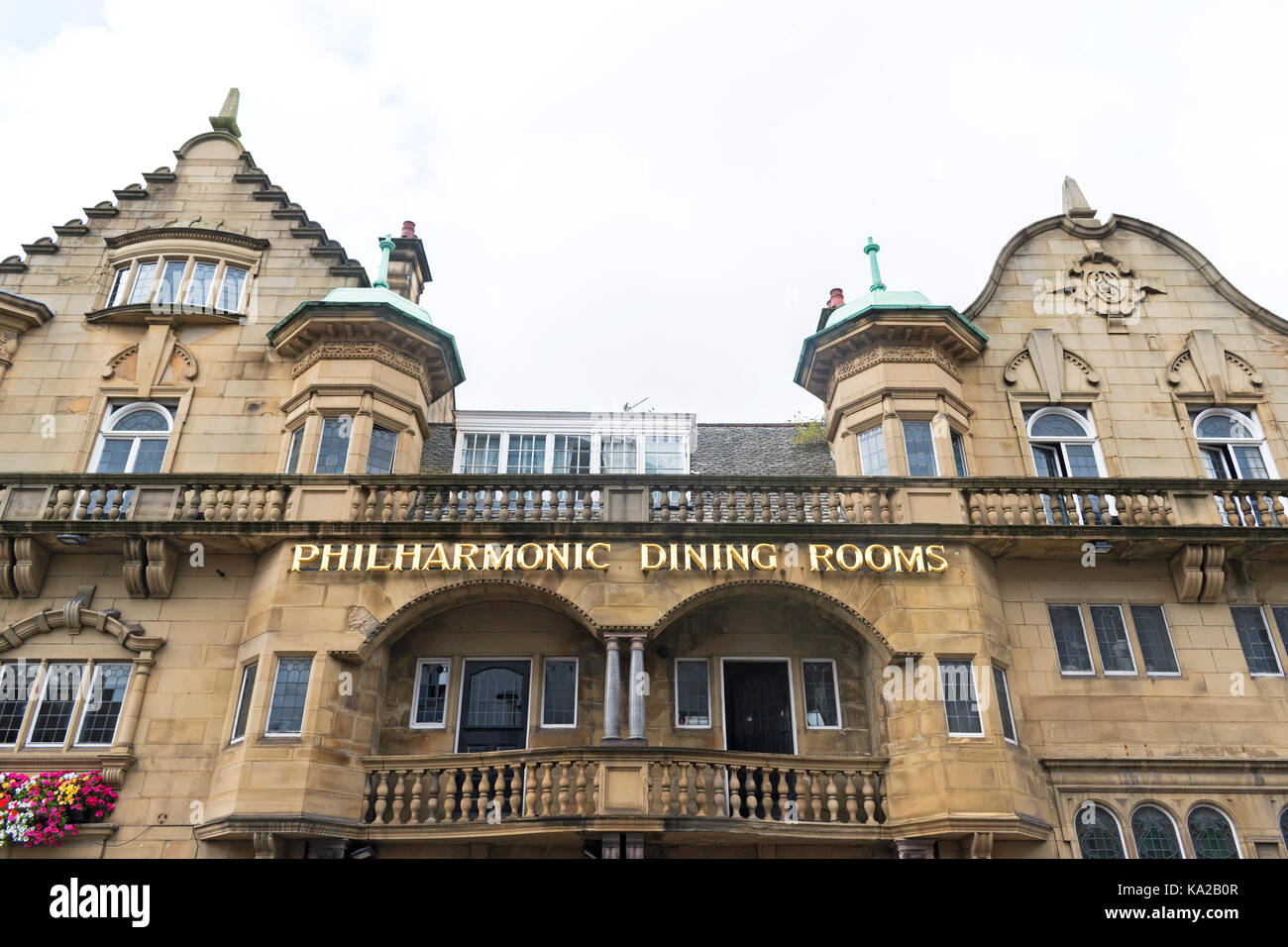 the philharmonic pub and dining rooms in liverpool, england, uk. - Stock Image