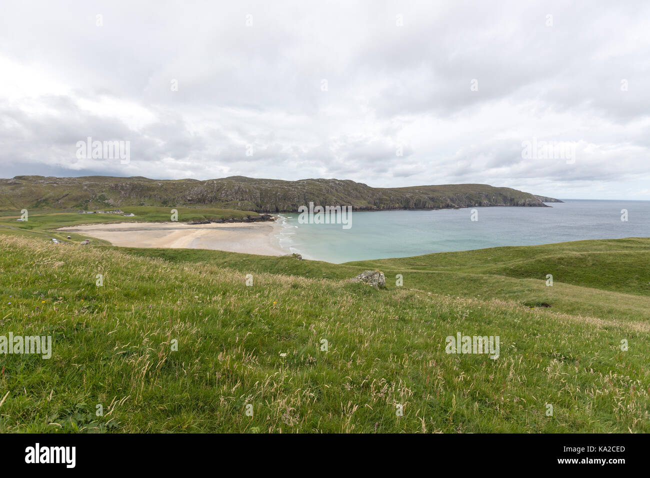 Cliff Beach, Cliff Beach, Isle of Lewis, Outer Hebrides, Scotland, UK - Stock Image