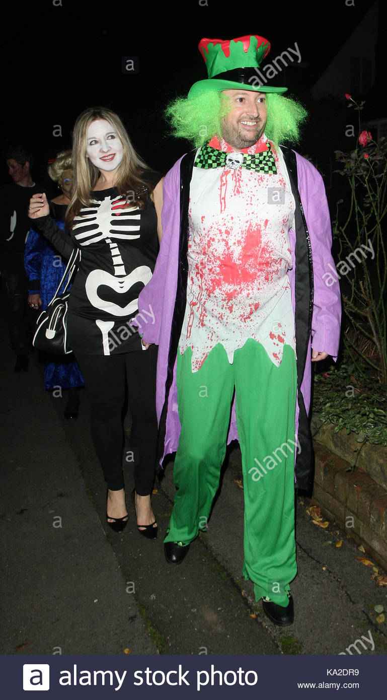 Jonathan Ross celebrity Halloween party in costumes and fancy dress arrivals! Celebrities like Jimmy Carr Claudia Schiffer Ruffus Hound Connie Huq ...  sc 1 st  Alamy & David Mitchell. Jonathan Ross celebrity Halloween party in costumes ...