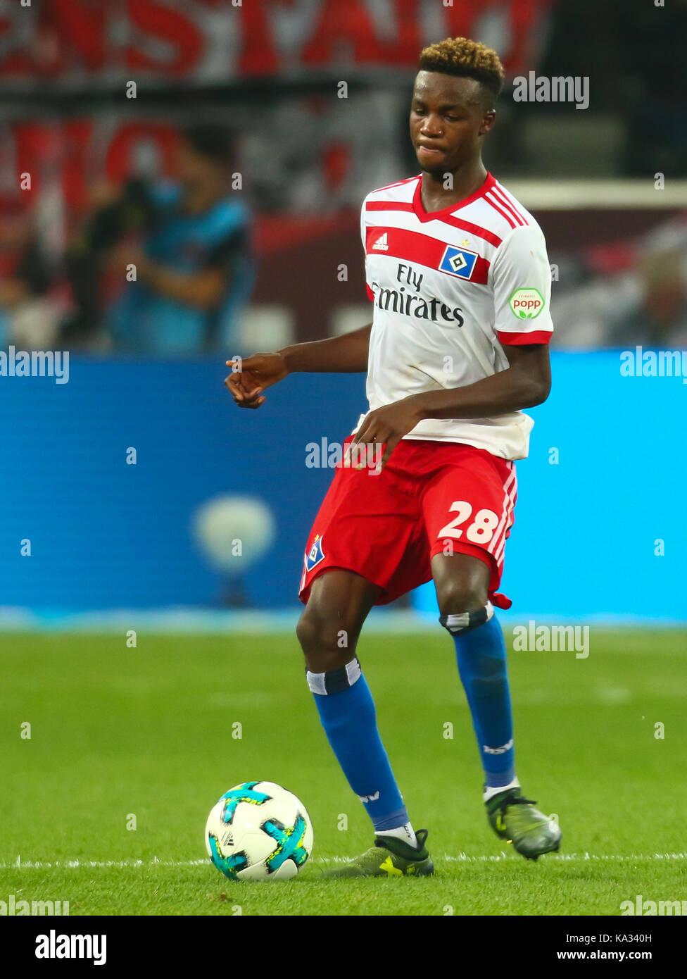 Leverkusen, Germany. 24th Sep, 2017. Leverkusen, Germany September 24, 2017, Bundesliga matchday 6, Bayer 04 Leverkusen - Stock Image