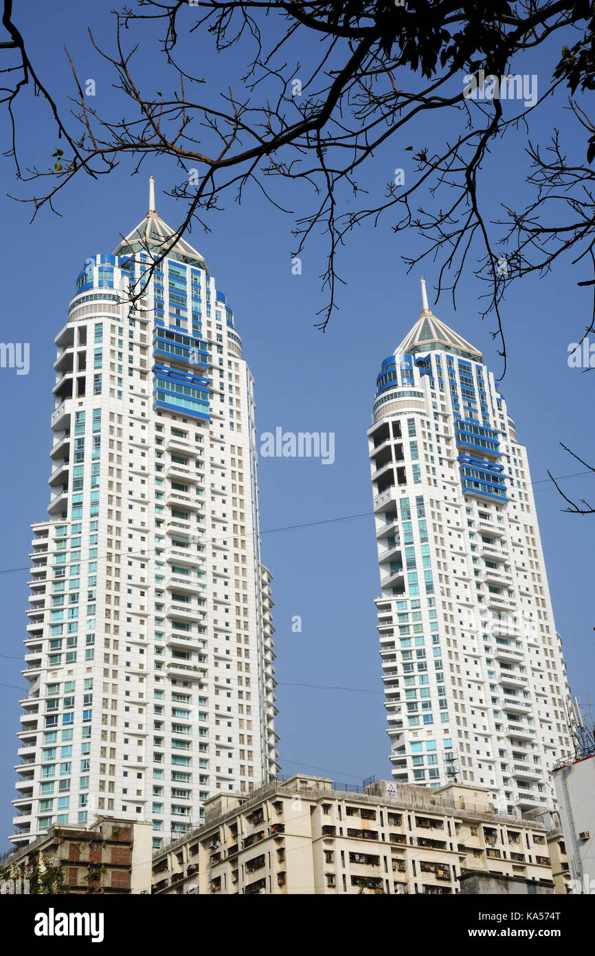 The imperial twin towers residential skyscraper complex tallest the imperial twin towers residential skyscraper complex tallest building in india tardeo mumbai maharashtra india asia rmm 258612 thecheapjerseys Choice Image