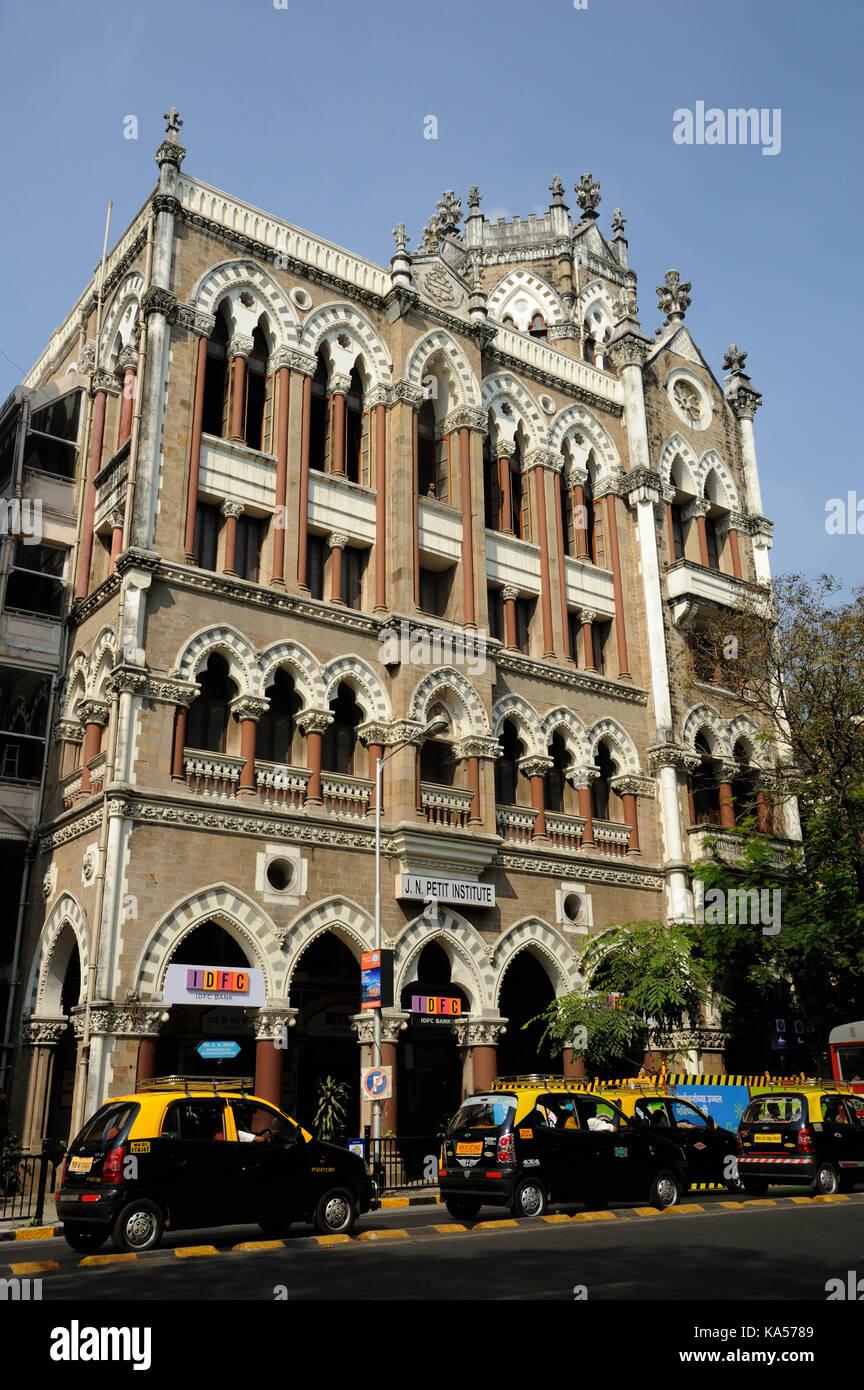 j n petit institute library, mumbai, maharashtra, India, Asia - Stock Image