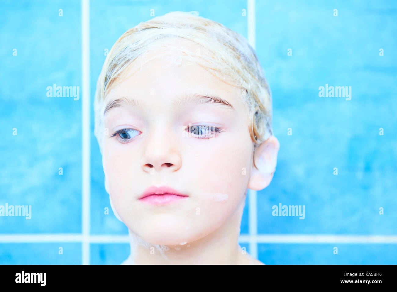 Little Girl Taking Bath Stock Photos & Little Girl Taking Bath Stock ...