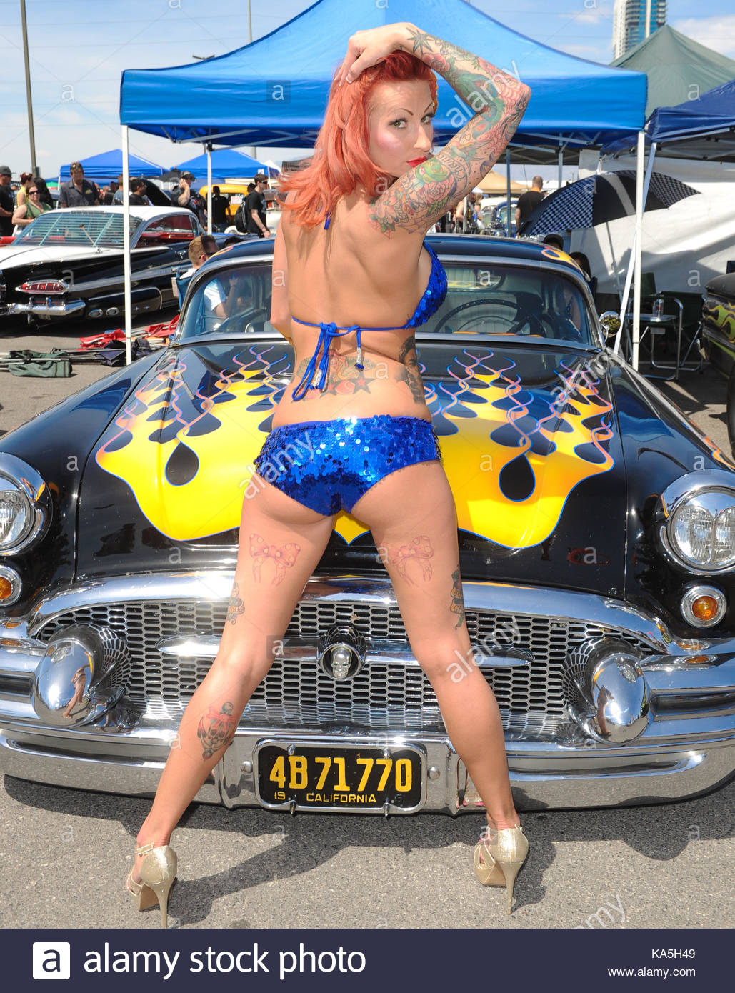 Viva Las Vegas Rockabilly Weekend Car Show