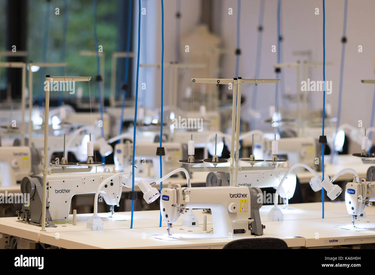 Sewing machines. - Stock Image
