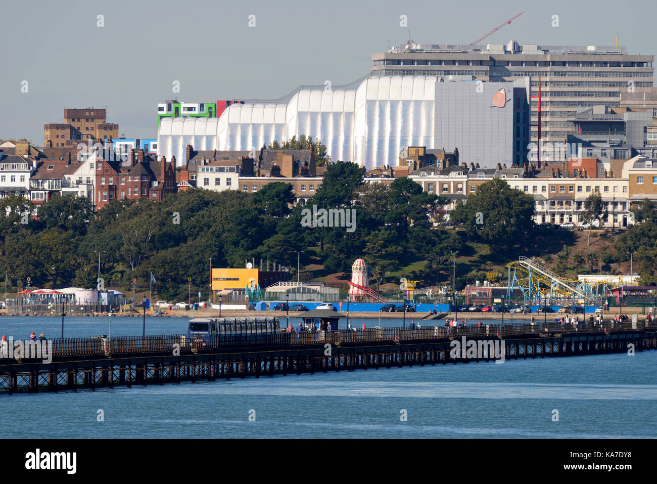 South Essex College of Further and Higher Education, also known as South Essex College, Southend on Sea, Essex. - Stock Image