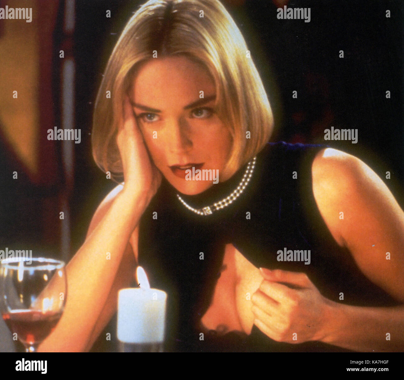 SILVER 1993 Paramount Pictures film with Sharon Stone - Stock Image
