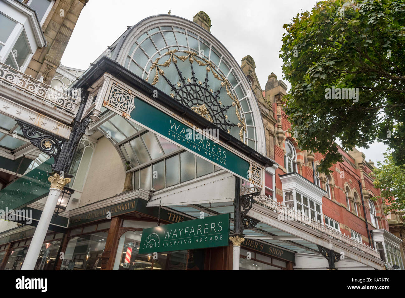 Southport The Wayfarers Arcade Lord street. - Stock Image