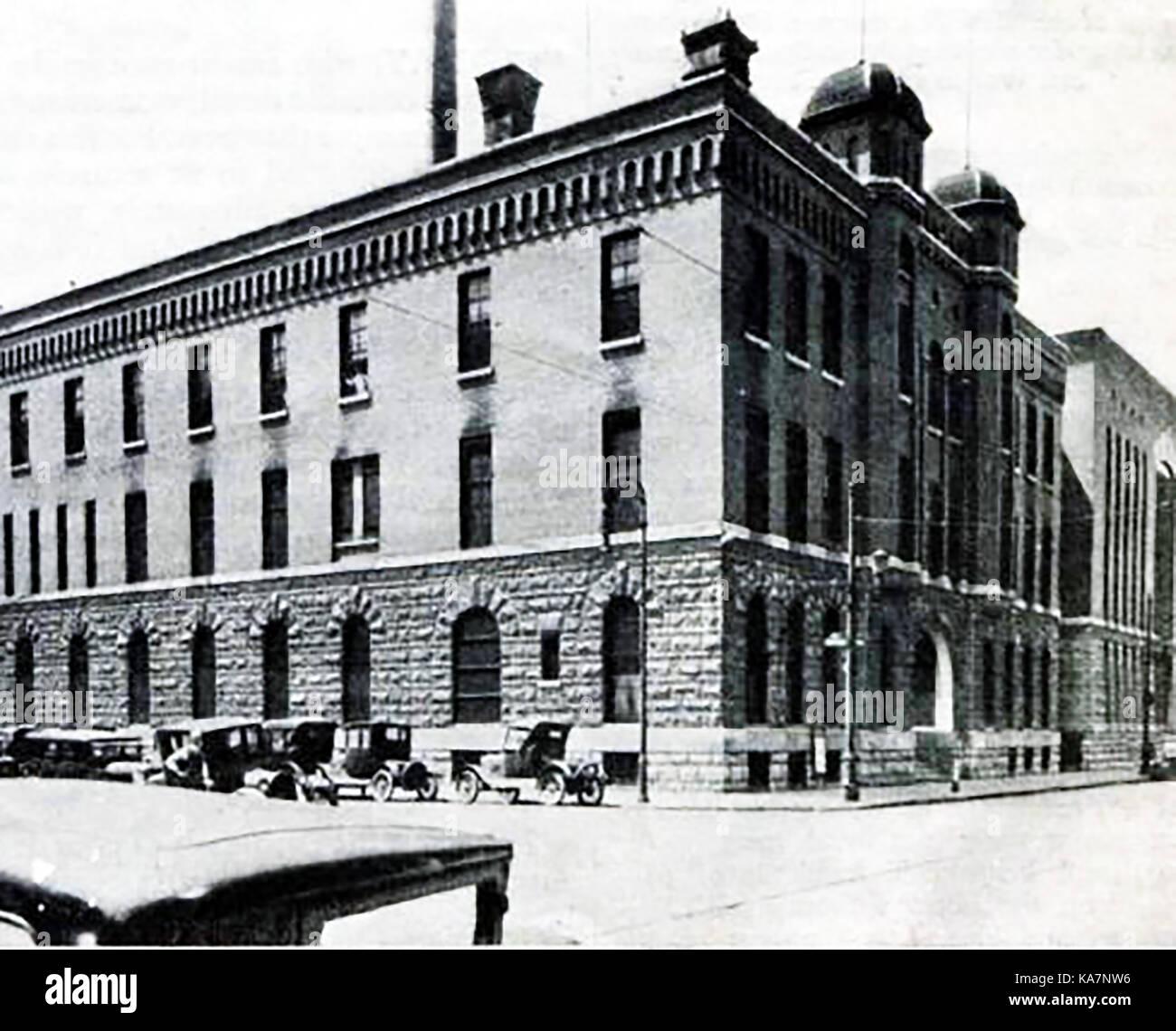 1930 Jefferson County Jail / gaol USA - Stock Image