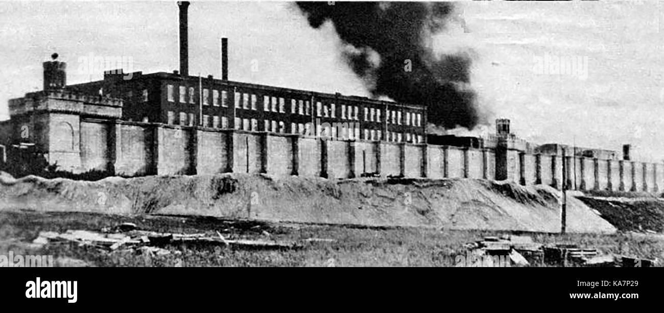 1930 Oklahoma State Penitentiary USA - Stock Image